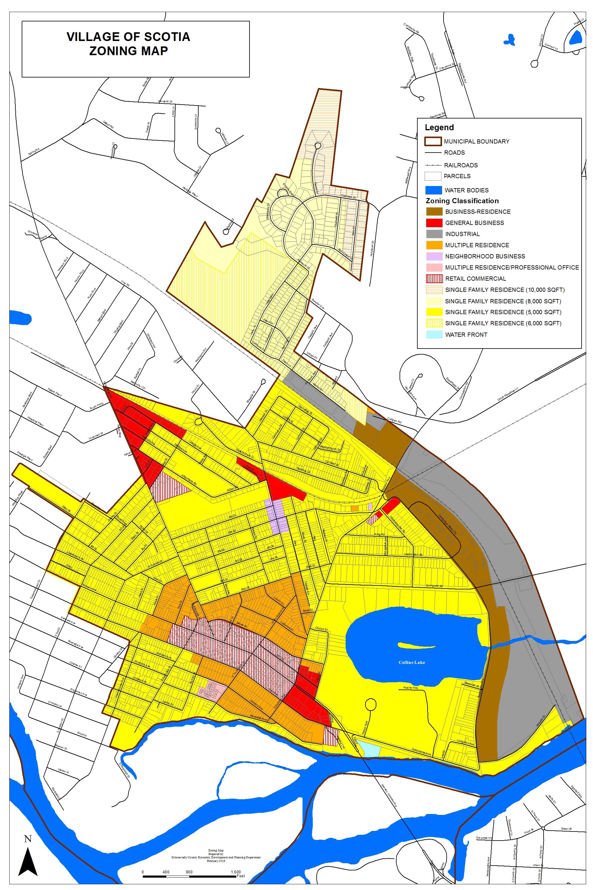 Zoning Village Of Scotia - Nyc map zoning